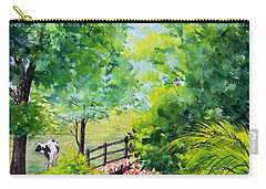 Contentment Carry-all Pouch by Nancy Cupp