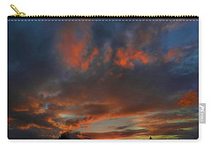 Contorted Sunset Carry-all Pouch