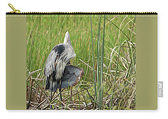 Contortionist Great Blue Heron Carry-all Pouch