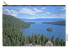 Carry-all Pouch featuring the photograph Contours Of The Sacred Land by Lynda Lehmann