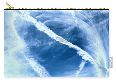 Contrail Concentricities Carry-all Pouch