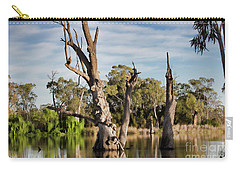 Carry-all Pouch featuring the photograph Contrasted by Douglas Barnard