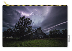 Carry-all Pouch featuring the photograph Convergence  by Aaron J Groen