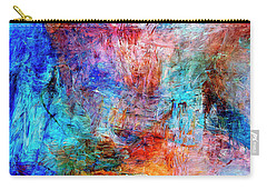 Carry-all Pouch featuring the painting Convergence by Dominic Piperata