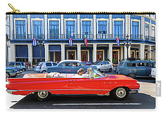 Convertible With Long Tailfins Carry-all Pouch