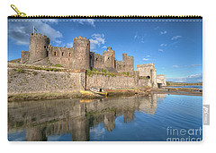 Conwy Castle Carry-all Pouch by Adrian Evans