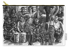 Cook Islands Dance Team At Practice Carry-all Pouch