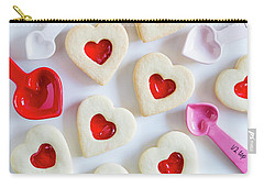 Carry-all Pouch featuring the photograph Cookie Baking Love by Teri Virbickis