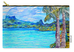 Cooks Bay Moorea Carry-all Pouch
