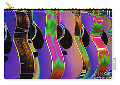 Cool Acoustic Guitars Carry-all Pouch