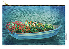 Carry-all Pouch featuring the photograph Cool Blue Boat Parade by Aimee L Maher Photography and Art Visit ALMGallerydotcom