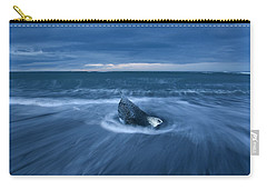 Carry-all Pouch featuring the photograph Cool Blue by Dustin LeFevre