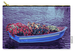 Carry-all Pouch featuring the photograph Cool Sunset Boat Parade by Aimee L Maher Photography and Art Visit ALMGallerydotcom