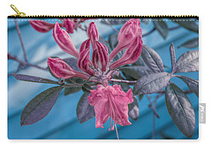 Carry-all Pouch featuring the photograph Cool Sunset Budding Azalea by Aimee L Maher Photography and Art Visit ALMGallerydotcom