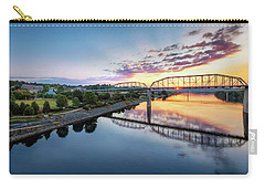 Coolidge Park Sunrise Carry-all Pouch