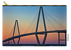 Cooper River Bridge Sunset Carry-all Pouch