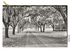 Coosaw Plantation Avenue Of Oaks Carry-all Pouch
