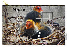 Coots In Nest Carry-all Pouch