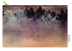 Carry-all Pouch featuring the digital art Copper Lake by Jessica Wright