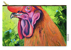 Copper Maran French Rooster Carry-all Pouch