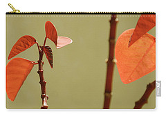 Carry-all Pouch featuring the photograph Copper Plant 2 by Ben and Raisa Gertsberg