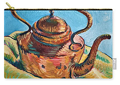 Copper Teapot Carry-all Pouch