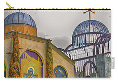 Coptic Church Rebirth Carry-all Pouch by Joseph Hollingsworth