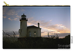 Coquille River Lighthouse At Sunset Carry-all Pouch