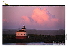 Coquille River Lighthouse Sunset Carry-all Pouch