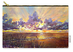 Coquina Beach Sunset Carry-all Pouch