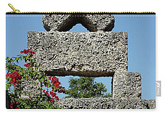 Coral Castle For Love Carry-all Pouch by Shirley Heyn
