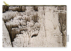 Carry-all Pouch featuring the painting Coral Castle by Nancy Kane Chapman