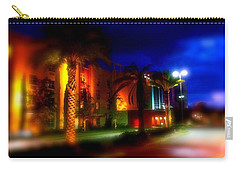 Coral Color Florida Carry-all Pouch by Iconic Images Art Gallery David Pucciarelli