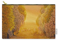 Coral Dawn Carry-all Pouch