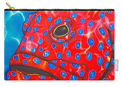 Coral Groupper II Carry-all Pouch