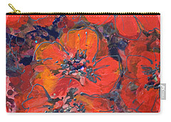 Coral Poppies Carry-all Pouch