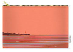 Coral Sea Carry-all Pouch by Val Arie