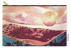Coral Sky Carry-all Pouch by Katherine Smit