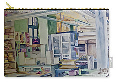 Corcoran School Of Art Ceramic Studio Back In The Days Carry-all Pouch