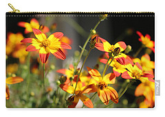 Campfire Fireburst Carry-all Pouch by Living Color Photography Lorraine Lynch