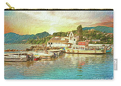 Carry-all Pouch featuring the photograph Corfu 30 My Passion Paintography by Leigh Kemp