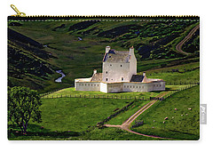 Corgarff Castle Carry-all Pouch by Anthony Dezenzio