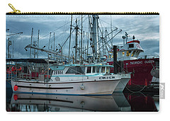 Carry-all Pouch featuring the photograph Cork To Cork by Randy Hall