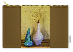 Carry-all Pouch featuring the photograph Corkscrew Willows by Paul Wear