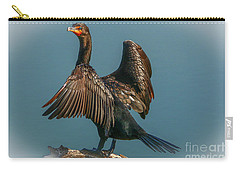 Cormorant Wings Carry-all Pouch