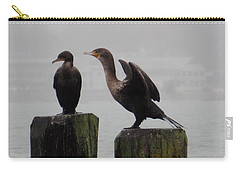 Cormorants In Bellingham Carry-all Pouch
