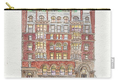 The Historic Corn Exchange Building In East Harlem Carry-all Pouch