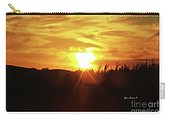 Corn Field Sunset Carry-all Pouch