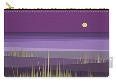 Corn Field Twilight Purple Carry-all Pouch