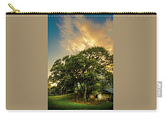 Carry-all Pouch featuring the photograph Corner Oak by Marvin Spates